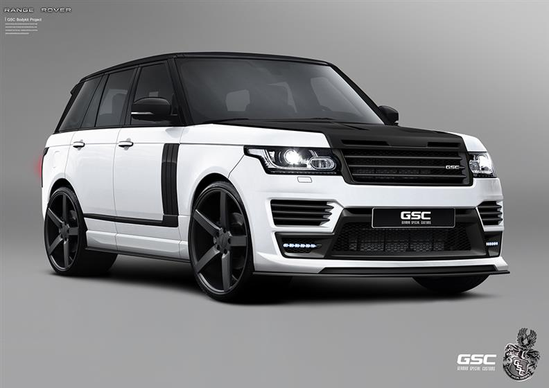 Range Rover 2013 with GSC Body Kit