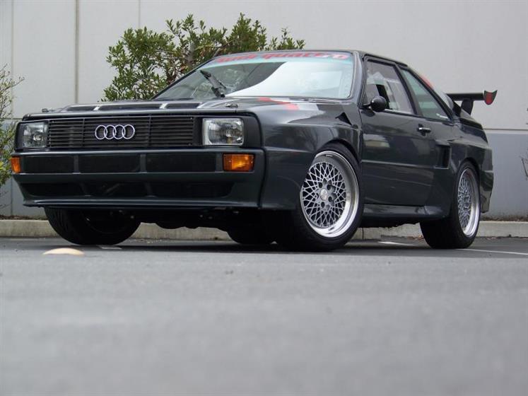 Curt's Audi Quattro Sport Conversion