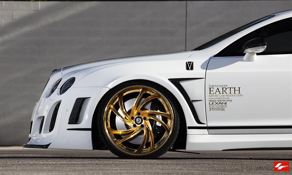 Satin White Bentley GT