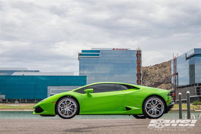 Lamborghini Huracan on LF-110