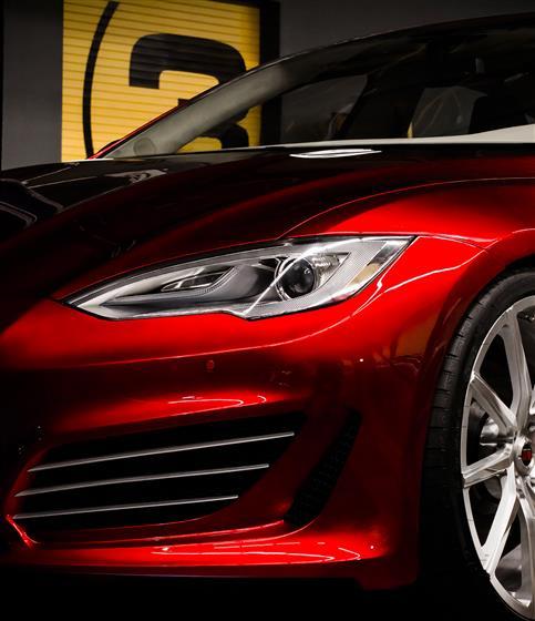 2015 Saleen Tesla Model ST
