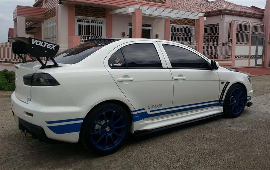 My Lancer EX customized to EVOX 311RS