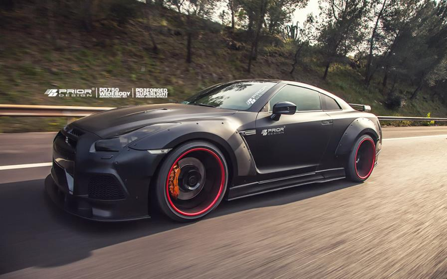 PD750 Widebody Aerodynamic-Kit for Nissan GT-R