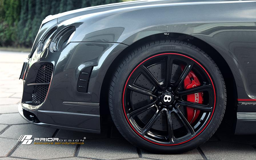 PD Aerodynamic-Kit for Bentley Continental GT/GTC
