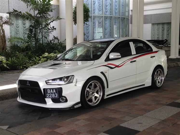 Mitsubishi Lancer Ex 2008