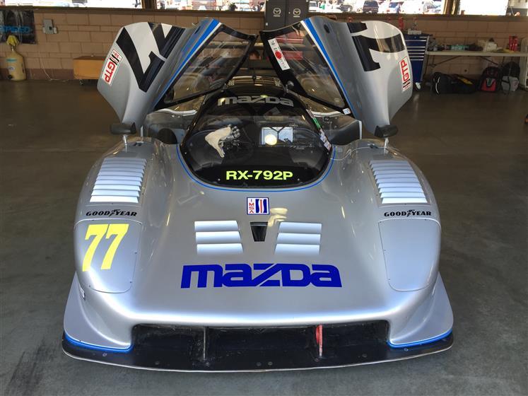 1992 Mazda RX-792P