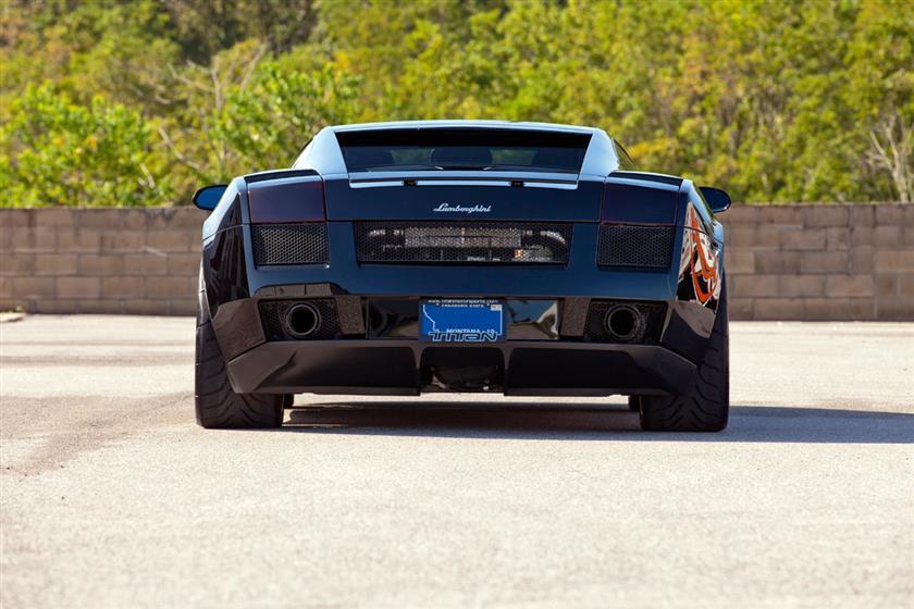 2005 Lamborghini Gallardo Titan Twin Turbo