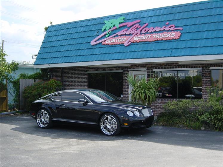 Bentley GT on 22