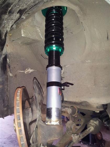 BMW E30 325e Coilover Install