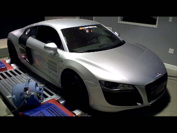 2010 Audi R8 V10 ECU Tuning