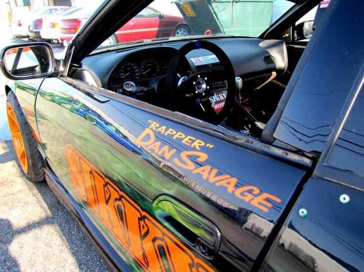 JE's LS1 powered Nissan 240sx Hatchback