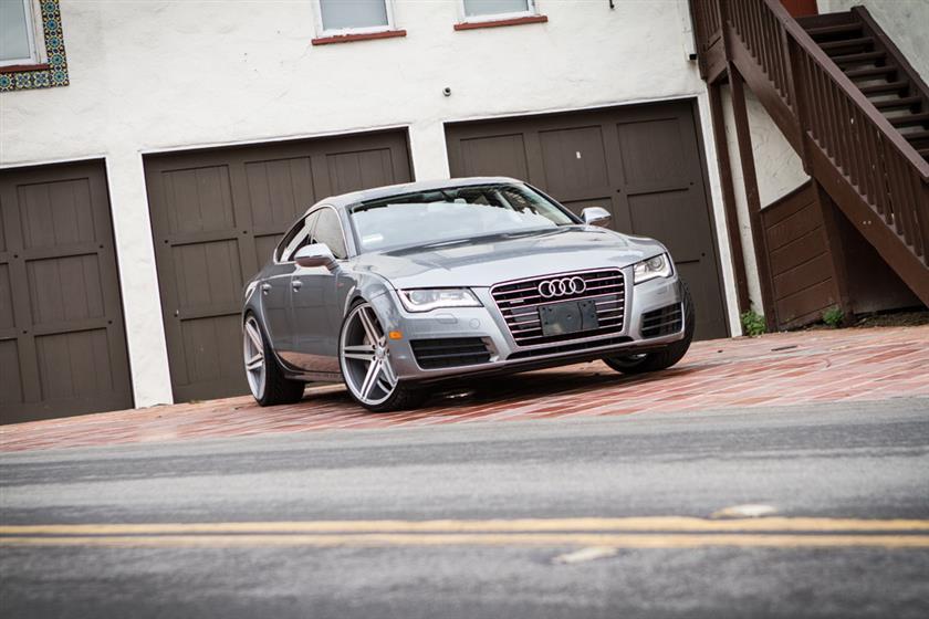 2014 Audi A7 Gray