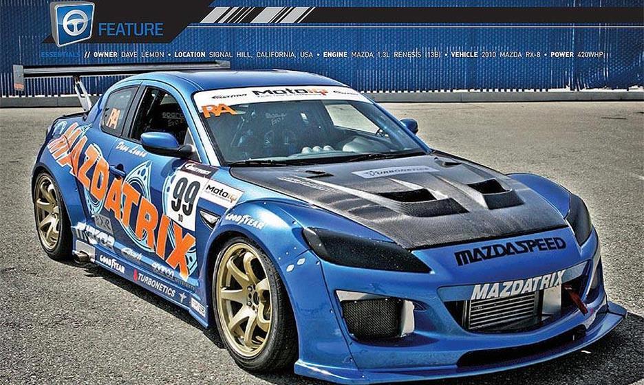 Mazdatrix Time Attack RX-8