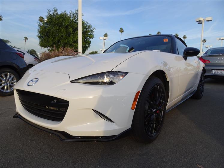 2016 Mazda MX-5 Miata Club Edition - White