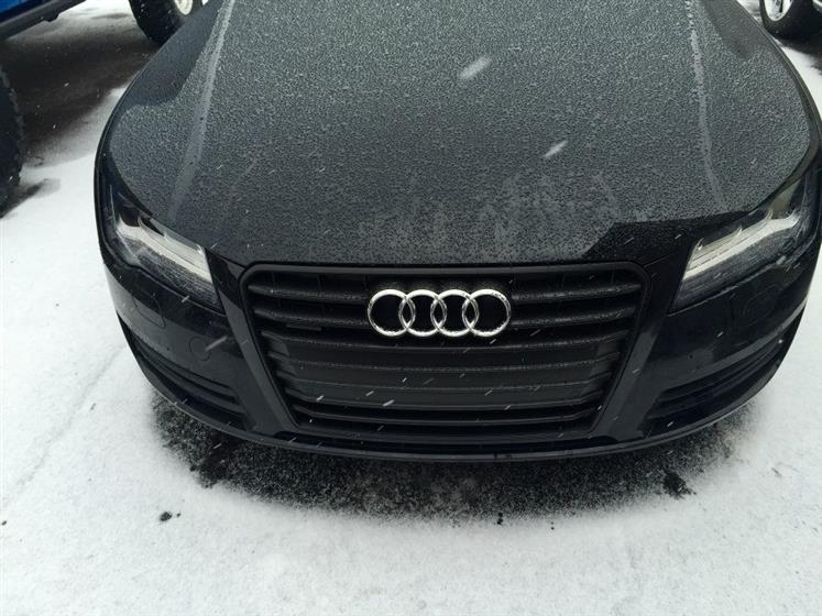 Blacked Out Audi A7