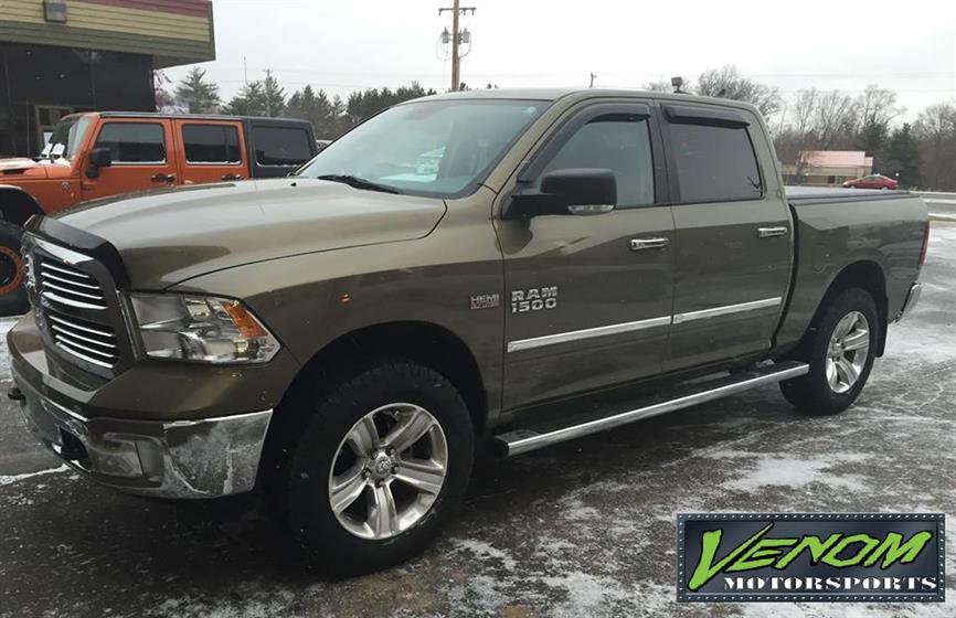 Leveled RAM 1500 with new rubber