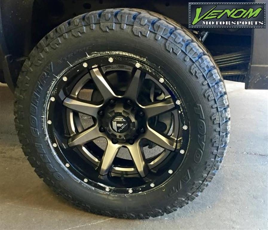 Grand Rapids Car Dealers: 2500 HD With 2 Piece Fuel Offroad Rampage