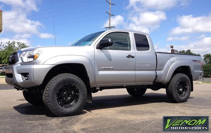 Toyota Tacoma with Revtek suspension