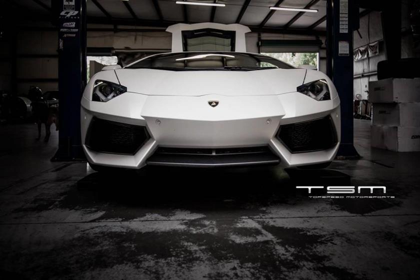 John's Lamborghini Aventador