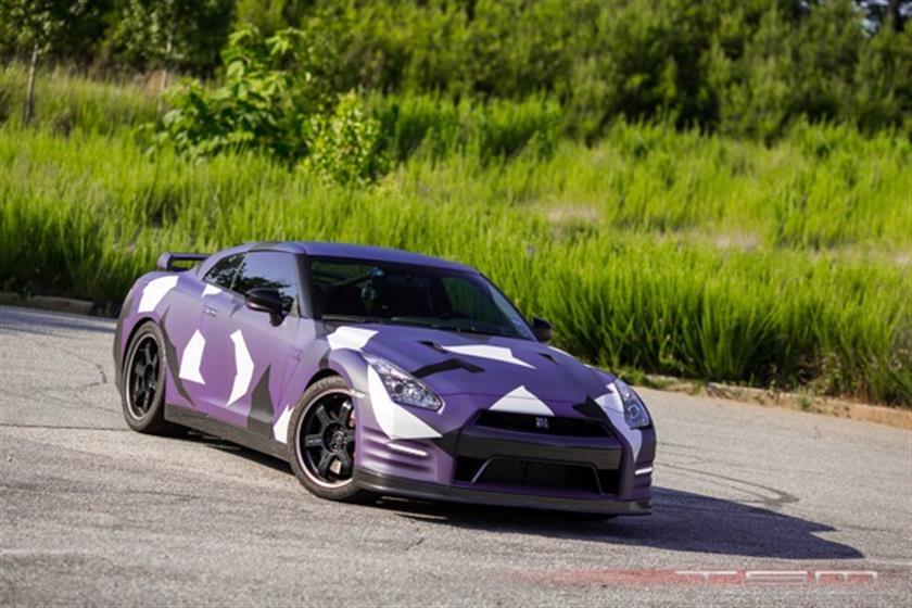 The Purple ProSeven 2013 Nissan GT-R