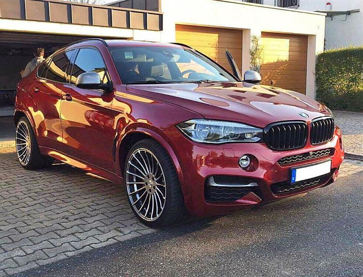 BMW X6 F16 with Anniversary EVO Wheels