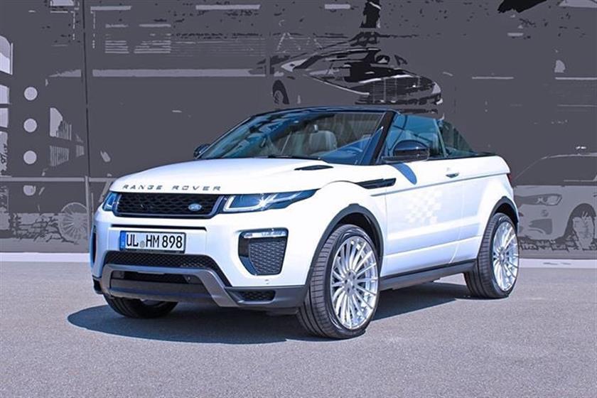 Range Rover  Evoque with Anniversary EVO Wheels