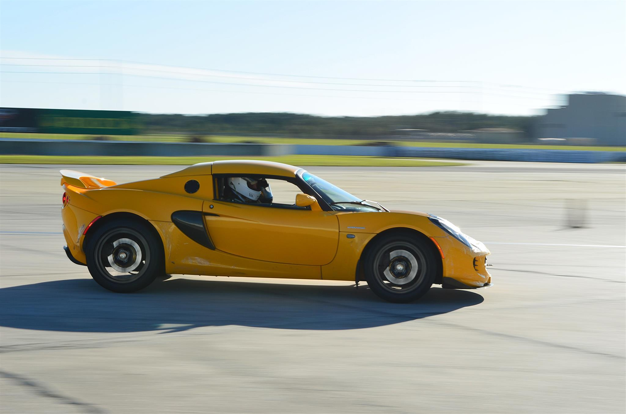 2006 Supercharged Lotus Elise -  Early stage of project, Sector 111 Gutsport Wing: