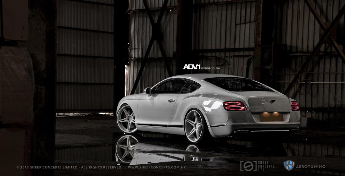 Bentley Continental GT With ADV05DC Wheels