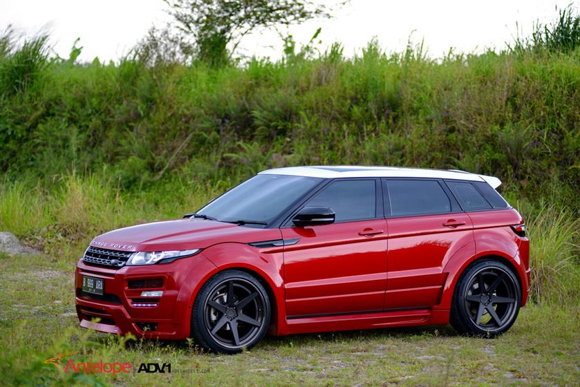 Range Rover Evoque With ADV6TS Wheels