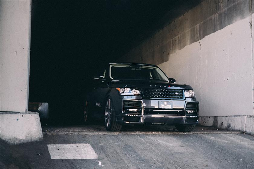 Starke Kollectiv Supercharged Range Rover