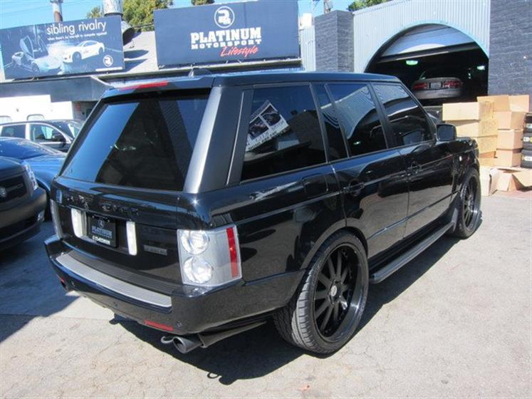 2008 Range Rover Westminister Super Charge