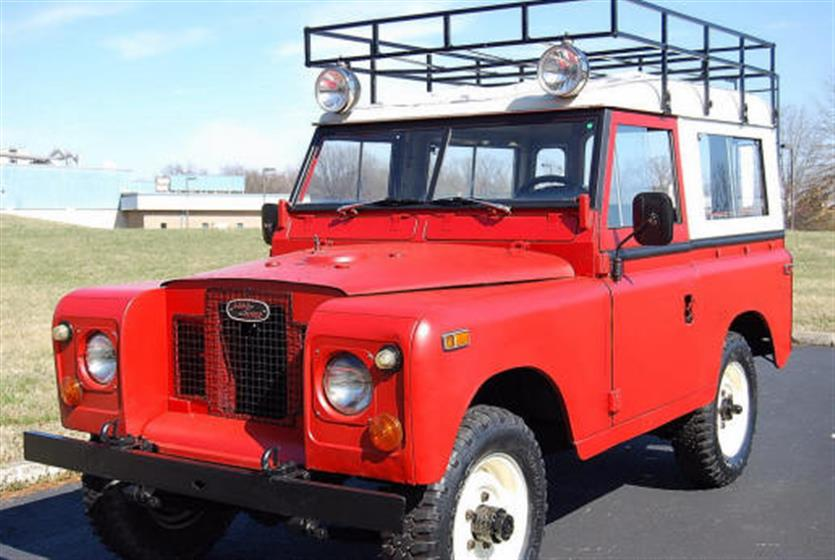1973 Land Rover LHD, Series III