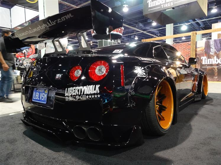 Booth 45211 - 2014 Nissan GT-R