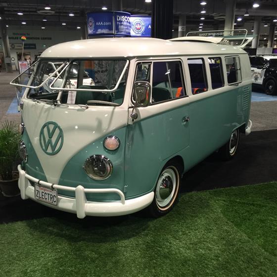 Electric VW Bus,Volkswagen