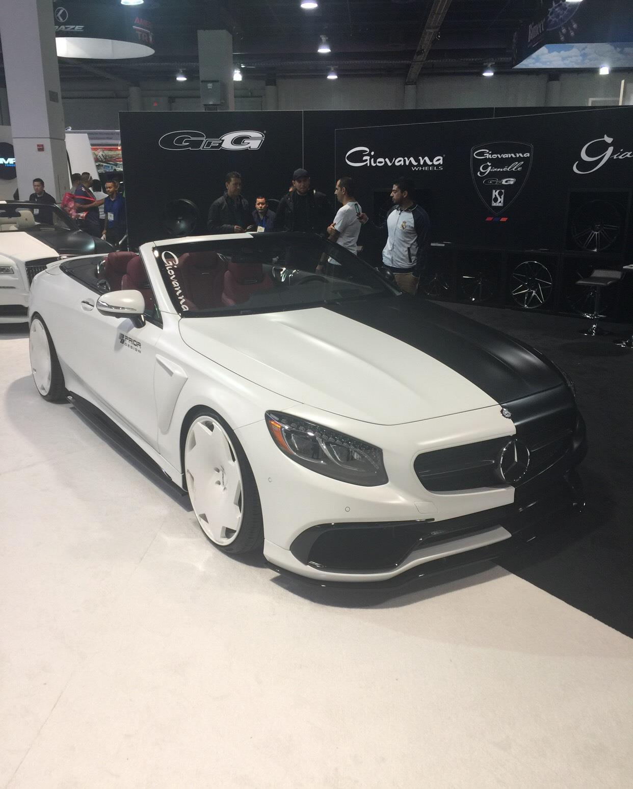 #mercedesbenz #sconvertible #sema2016,Mercedes-Benz