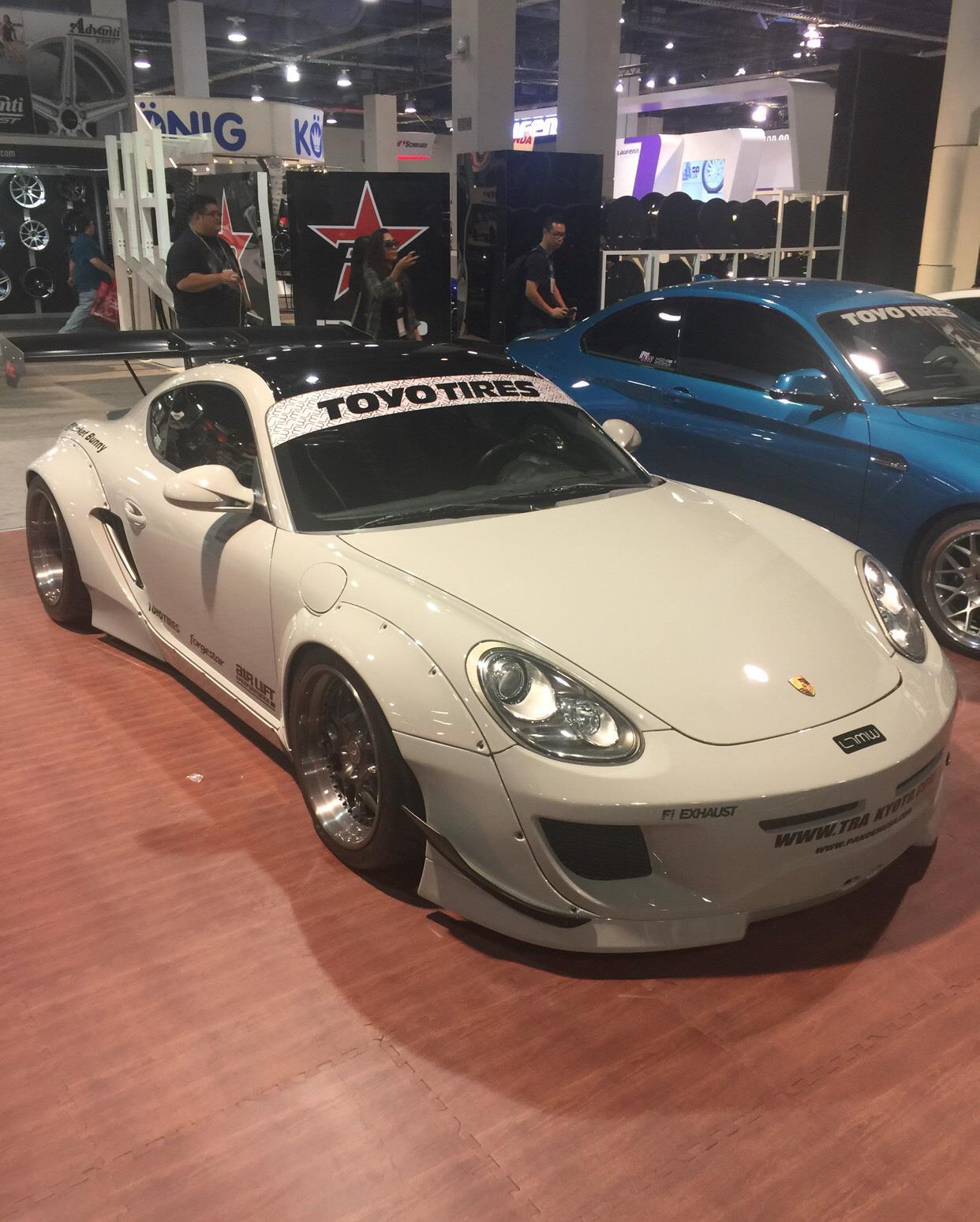#porsche #cayman #sema2016,Porsche