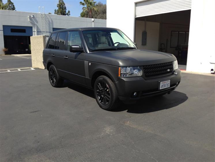 Range Rover Matte Black Wrap