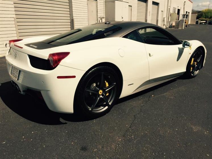 Ferrari Matte Wrap