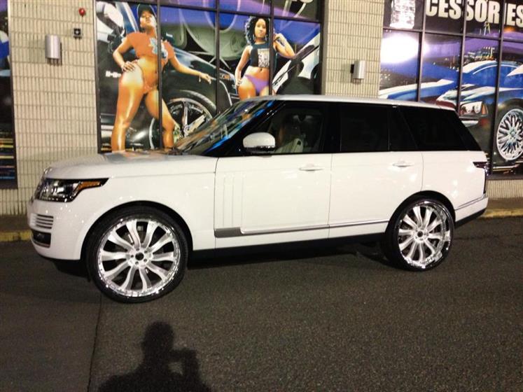 2013 Range Rover on Forgiatos wheels