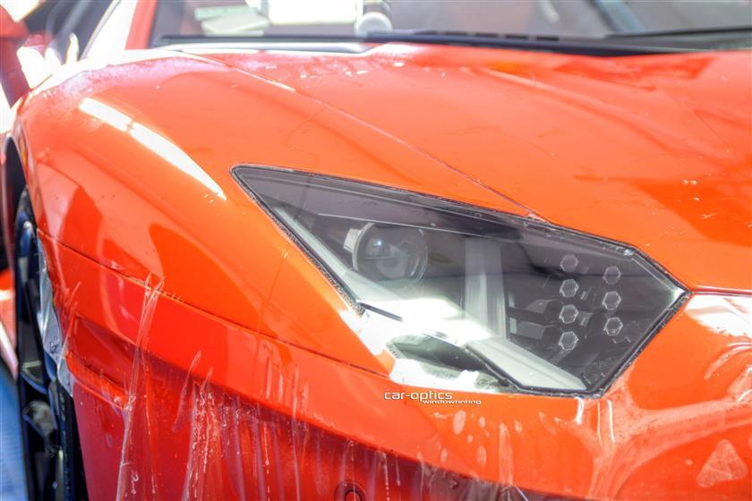 Lamborghini Aventador PPF Wrap