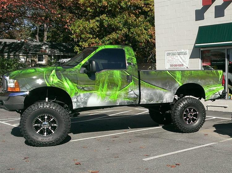 717 Wraps Ford Truck