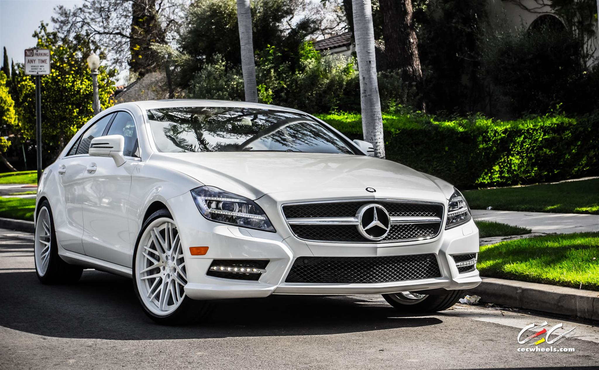 "Mercedes-Benz CLS550 -  Staggered 20"" CEC c885 wheels"