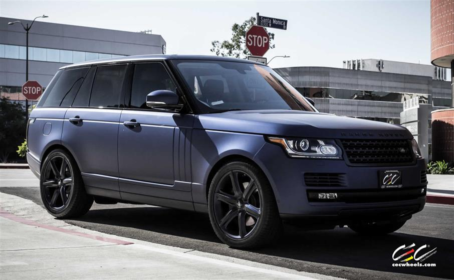 Range Rover Supercharged with Custom Wheels