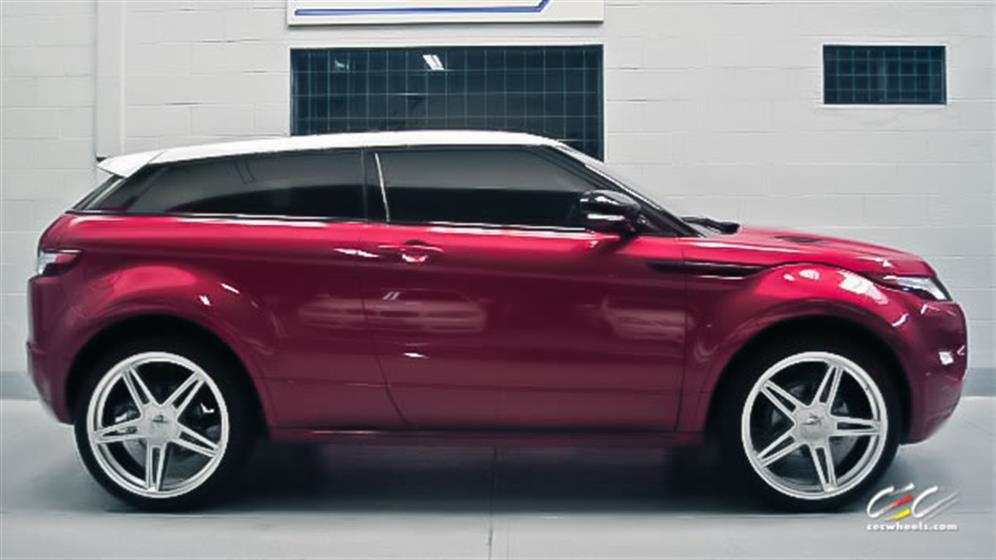 Land Rover Range Rover Evoque with Custom Wheels