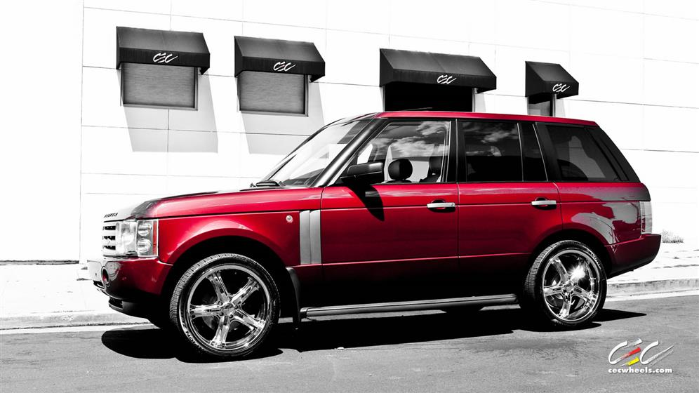 Land Rover Range Rover with Custom Wheels