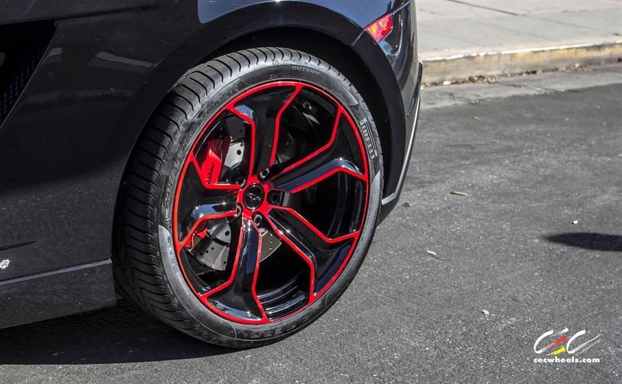 Lamborghini Gallardo LP560-4 with Custom Wheels