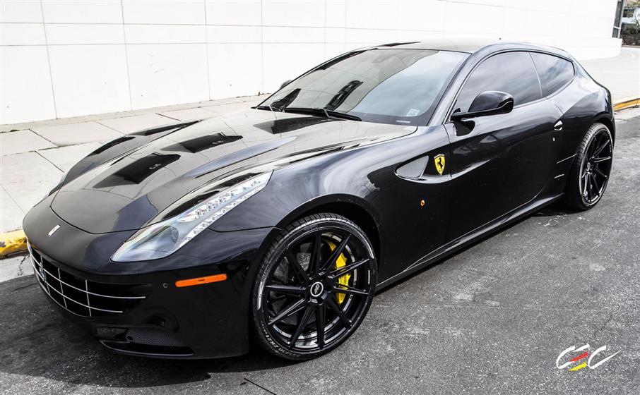 Ferrari FF with Custom Wheels