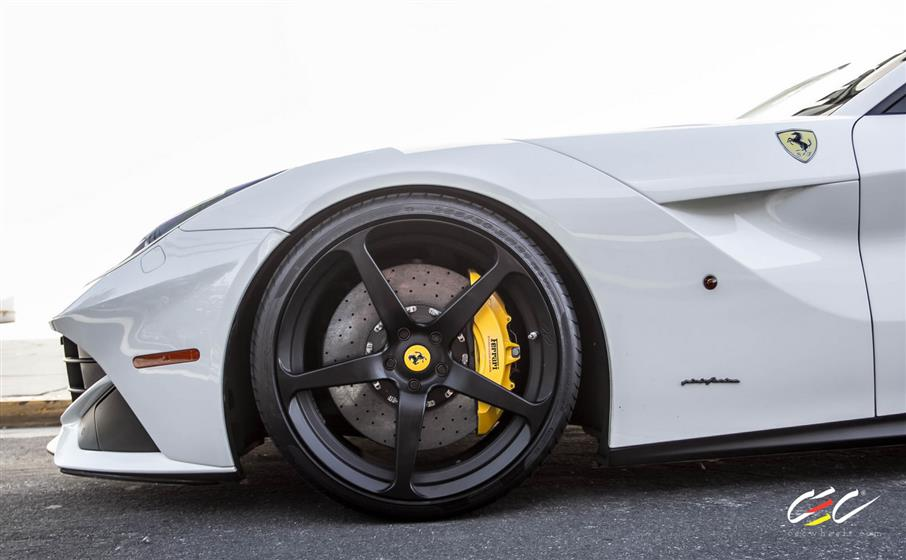 Ferrari F12 with Custom Wheels
