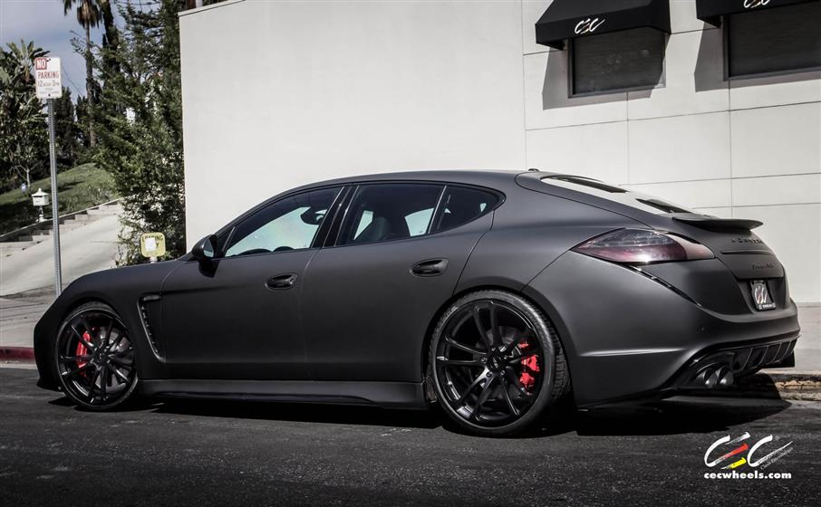 Caractere Exclusive Porsche Panamera Turbo with Custom Whe