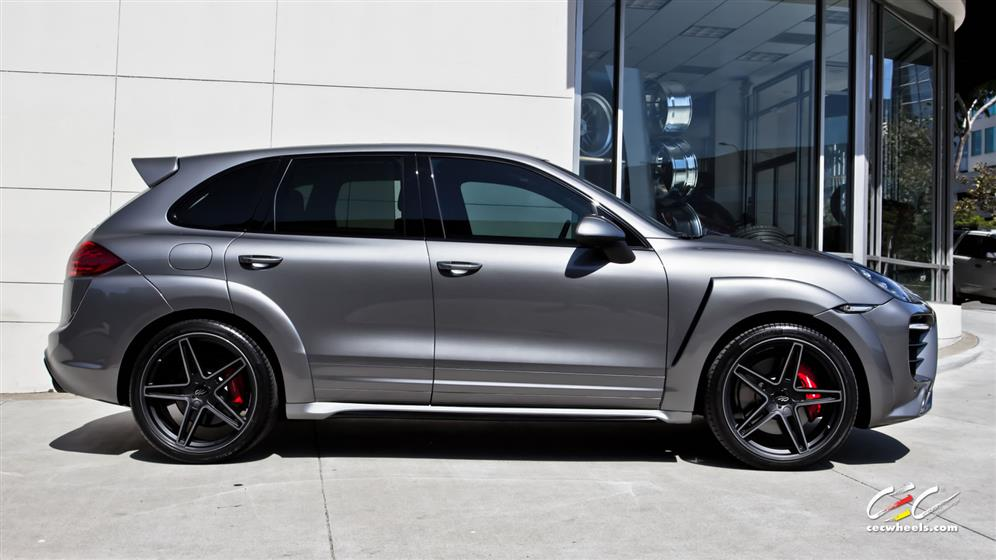 Caractere Exclusive Porsche Cayenne Turbo with Custom Wheels